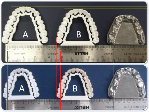 3-Dimensional Accuracy of Sintered YTZP Zirconia